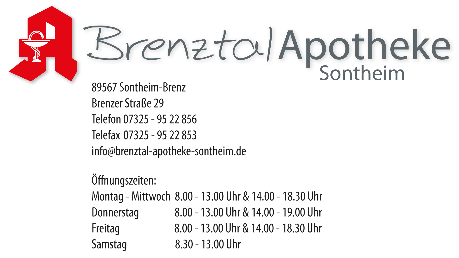 Brenztal Apotheke