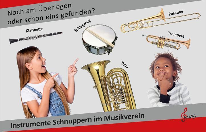 Instrumente schnuppern